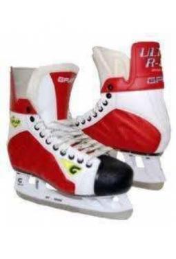Graf Hockeyschlittschuh Ultra R-80 Rot..